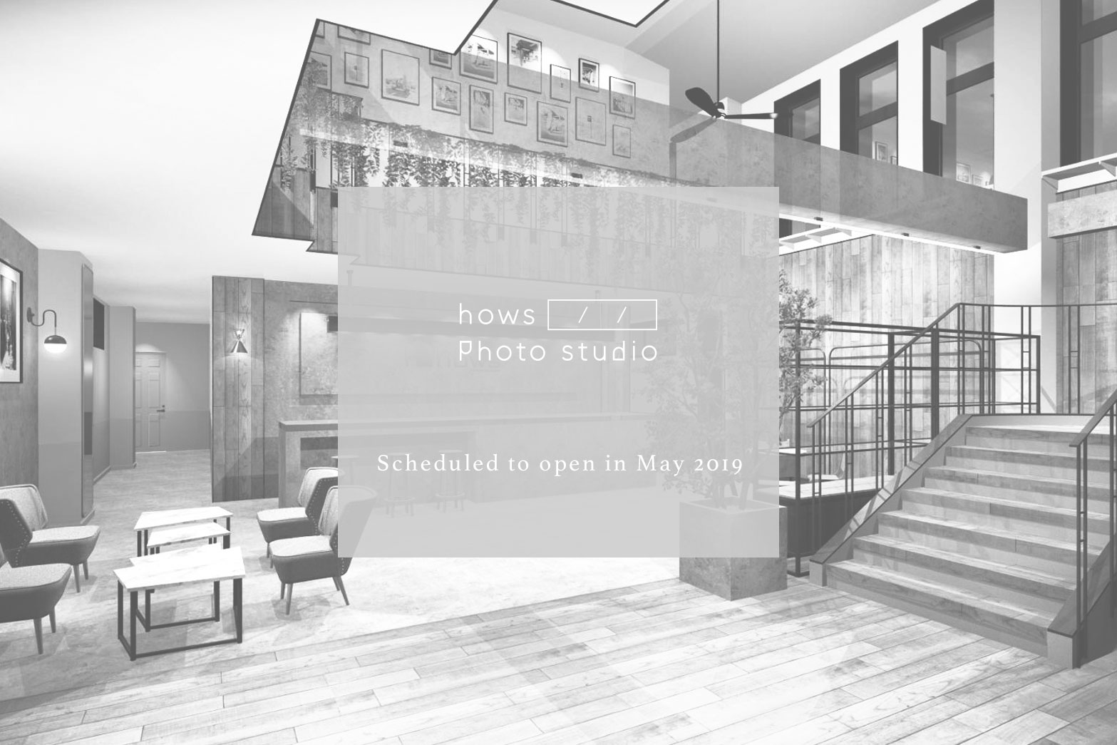 新しいスタジオをお見せするのが楽しみです。